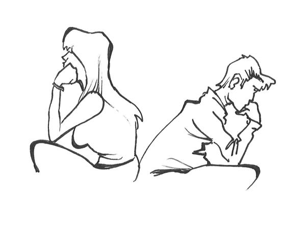 Ansia e richieste del partner